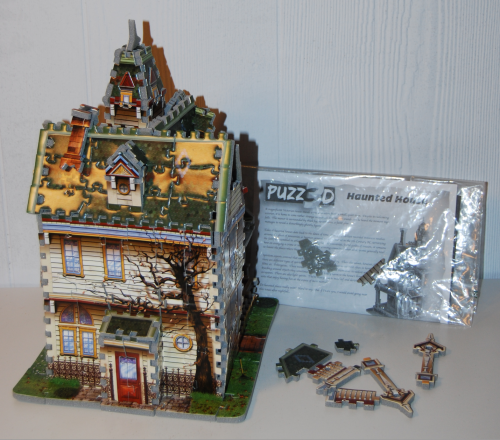 Haunted house 3d puzzle x