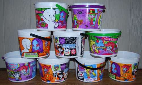 More casper halloween buckets