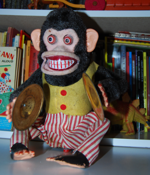 Jolly chimp toy adorable Not