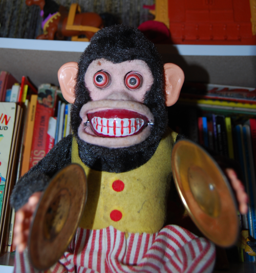 Jolly chimp toy stuff of nightmarest