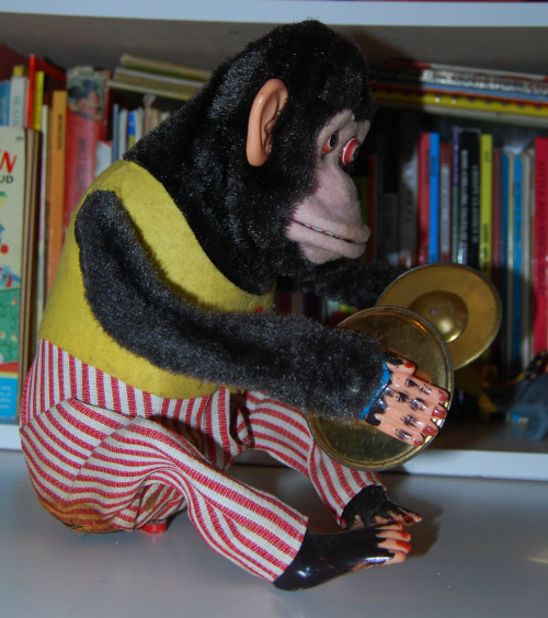 Jolly chimp toy 8
