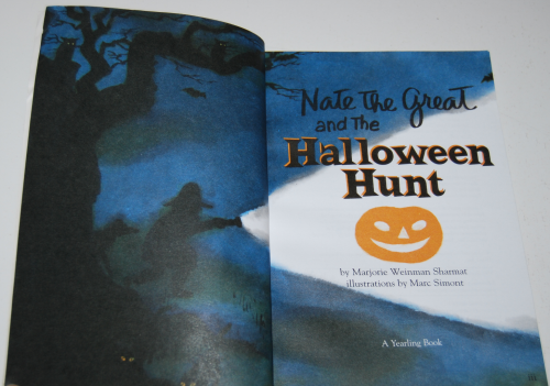 Nate the great halloween hunt 2