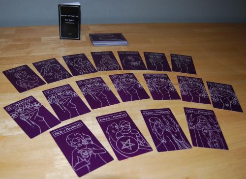 Penny dreadful tarot cards 6