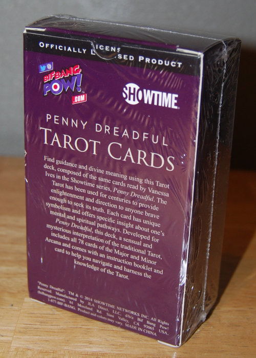 Penny dreadful tarot cards 2