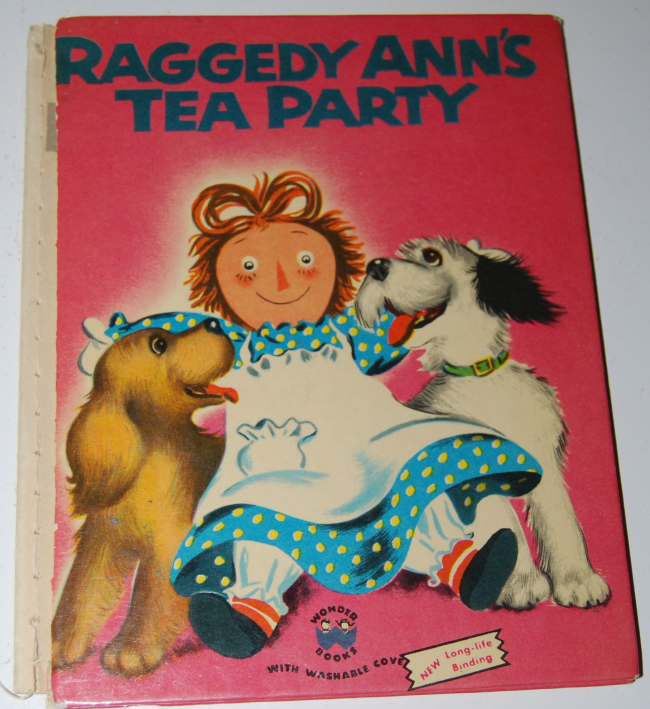 raggedy ann's tea party