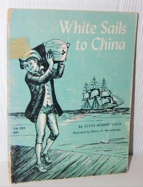 White sails to china scholastic book