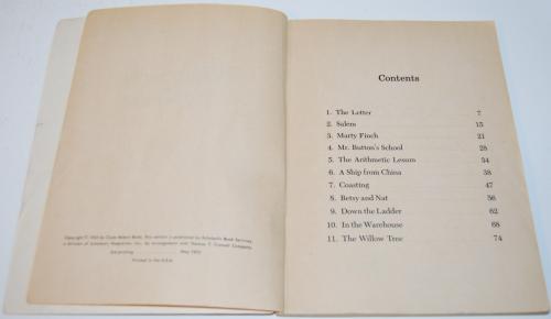 White sails to china scholastic book 1972