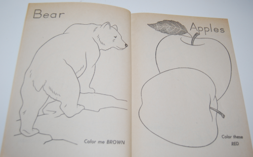 Color me vintage coloring book 3