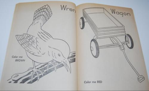 Color me vintage coloring book 5