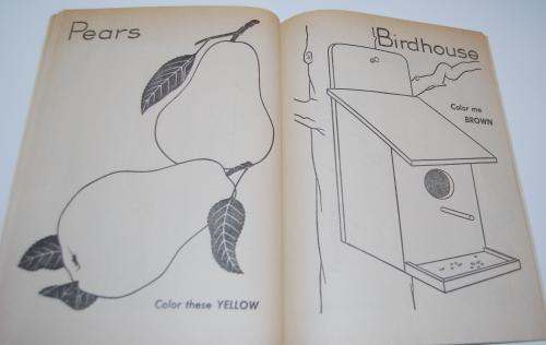 Color me vintage coloring book 6