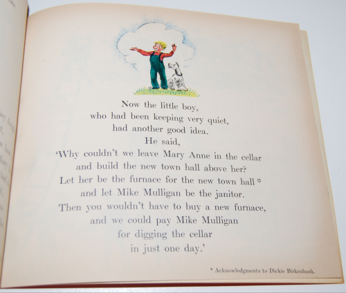 Scholastic book mike mulligan & the steam shovel 9
