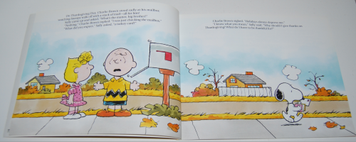 A charlie brown thanksgiving book 1