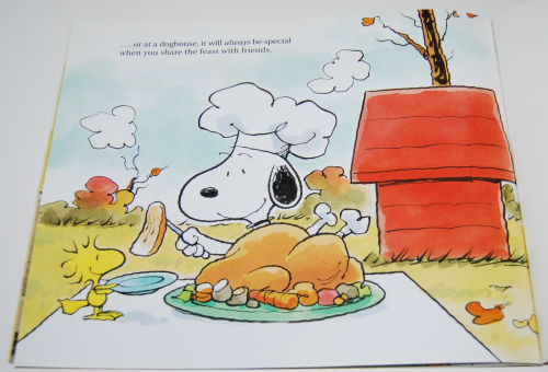 A charlie brown thanksgiving book 6