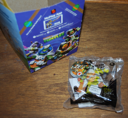 Tmnt happy meal 2016