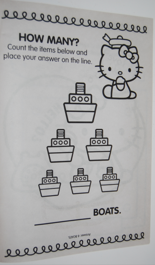 Giant hello kitty coloring book 3