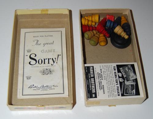Vintage sorry game 1