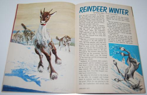 Jack & jill magazine january 1977 11
