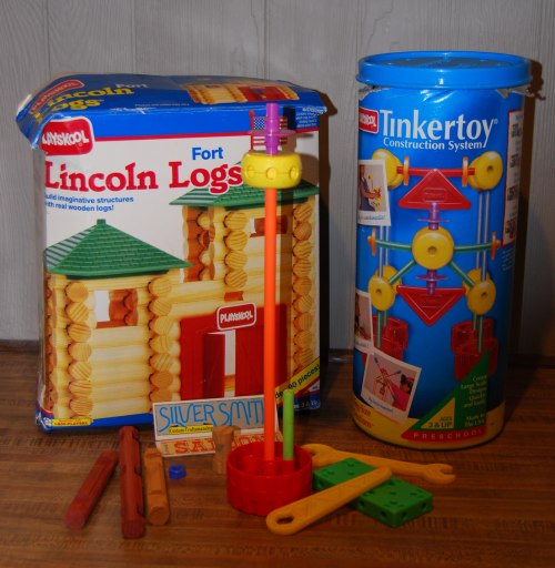 Tinker toys modern