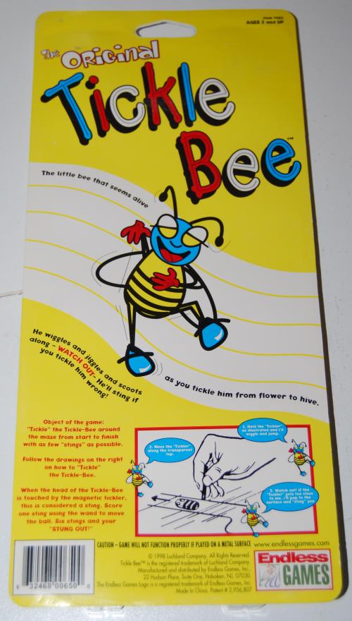 Tickle bee x
