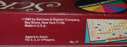 Scrabble 1982