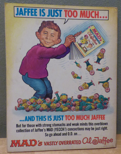 Mad's vastly overrated al jaffe book x