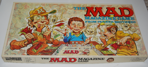 The mad magazine game x