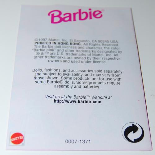 Barbie scrapbook x