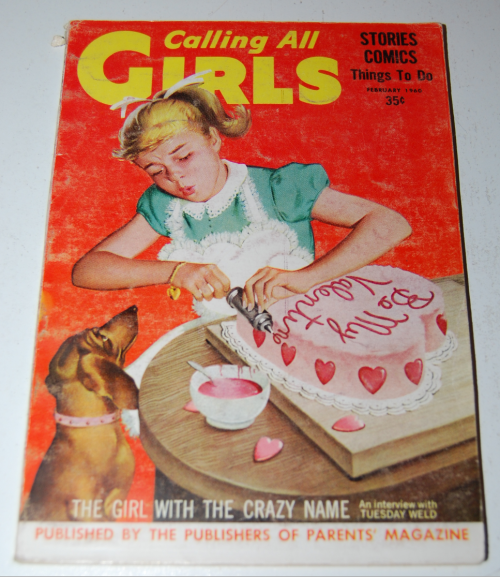 Calling all girls february 1960