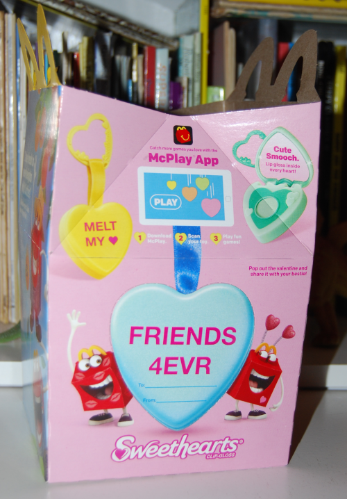 Valentine happy meal 1