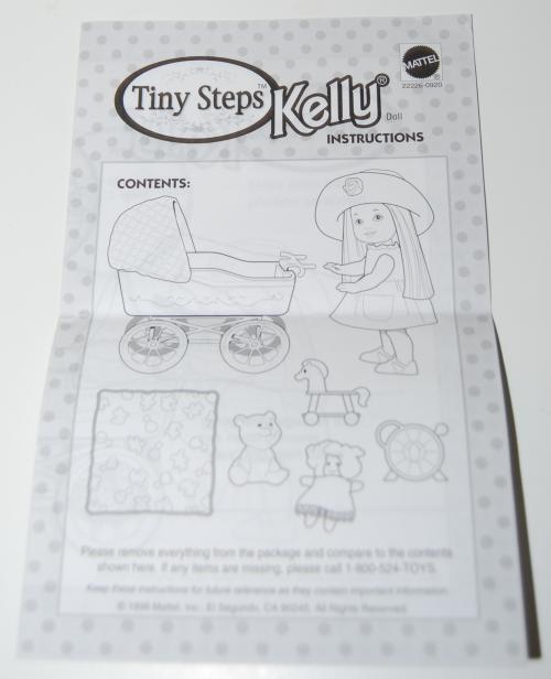 Tiny steps kelly doll set