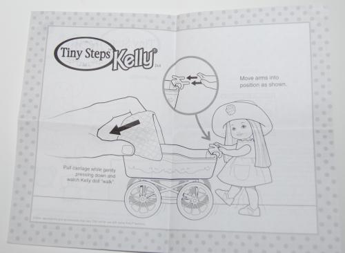 Tiny steps kelly doll set 1