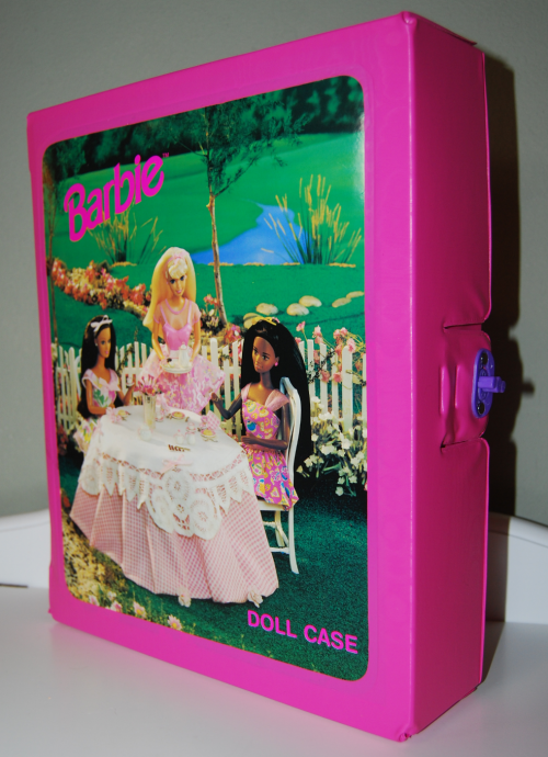 Barbie doll case x