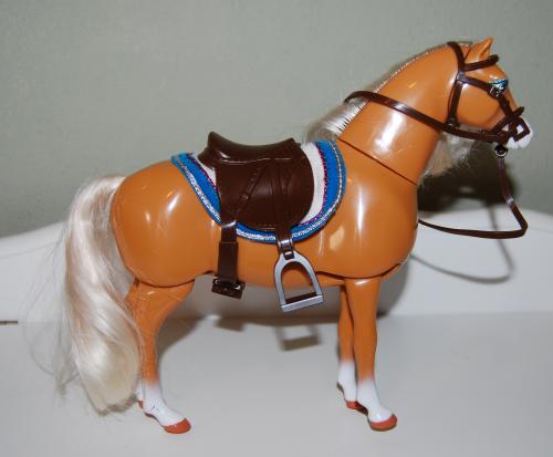 Barbie walking pony toy 4