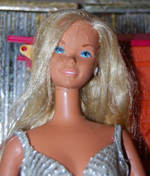 Vintage giant barbie doll x