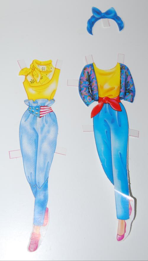 Barbie deluxe paperdoll 1991 9