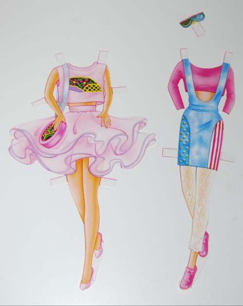 Barbie deluxe paperdoll 1991 10
