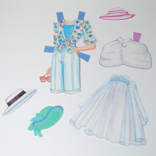 Princess diana paperdoll 1985 7