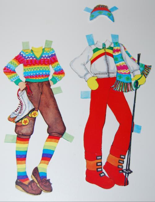 Rainbow paperdoll 3
