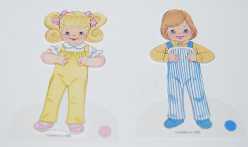 Heart family paperdolls 1985 4