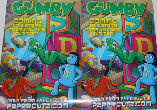 Gumby 2017 promo posters