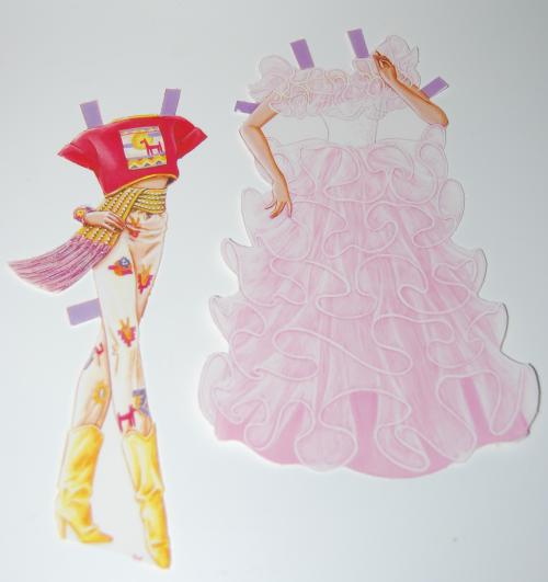 Barbie paperdoll 1990 2