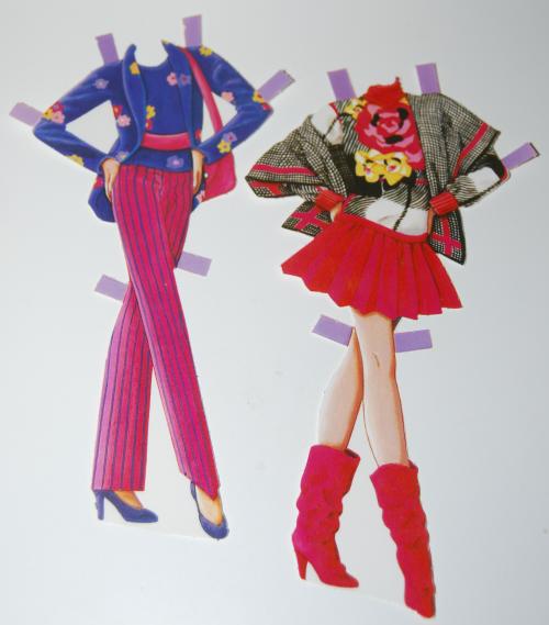 Barbie paperdoll 1990 9