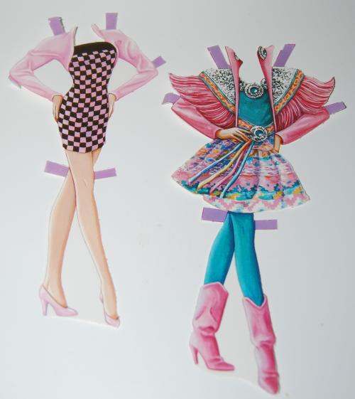 Barbie paperdoll 1990 10