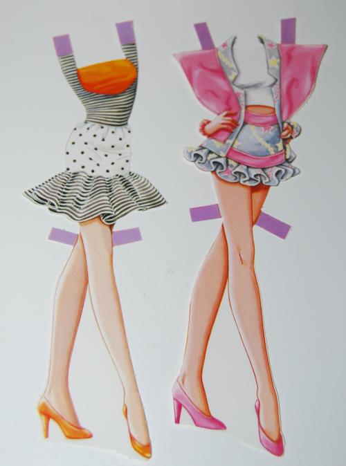Barbie paperdoll 1990 11