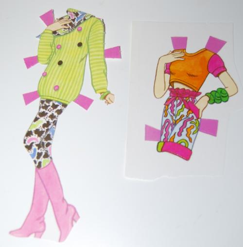 Paperdoll barbie 1991 2