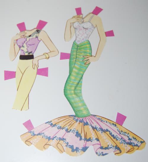 Paperdoll barbie 1991 10
