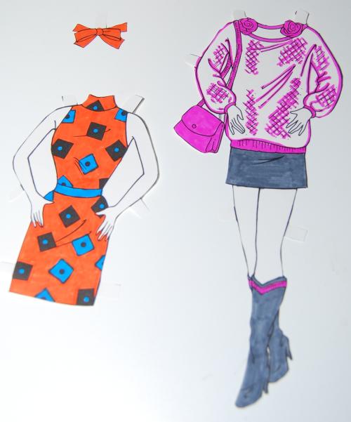 Barbie paperdolls 1992 10
