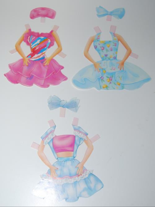 Barbie paperdolls 1992 12