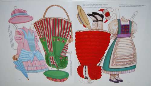 Alice in wonderland paperdoll by peck gandre 6