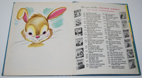 The baby bunny 11